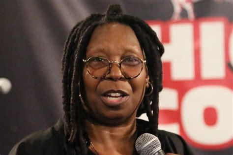 is whoopi goldberg bald whoopi goldberg says you have to be black to understand