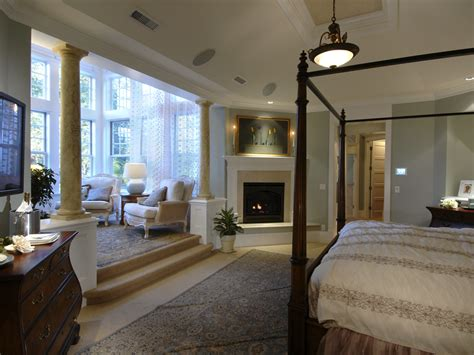 master bedroom with sitting room horton manor luxury home plan 071s 0001 house plans and more