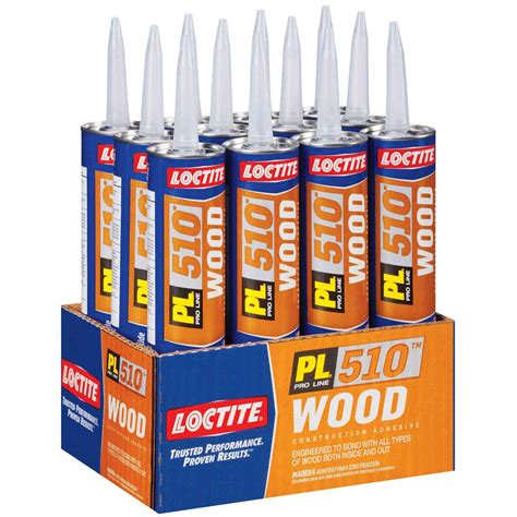 loctite roofing adhesive loctite pl 510 wood panel construction adhesive 10 oz