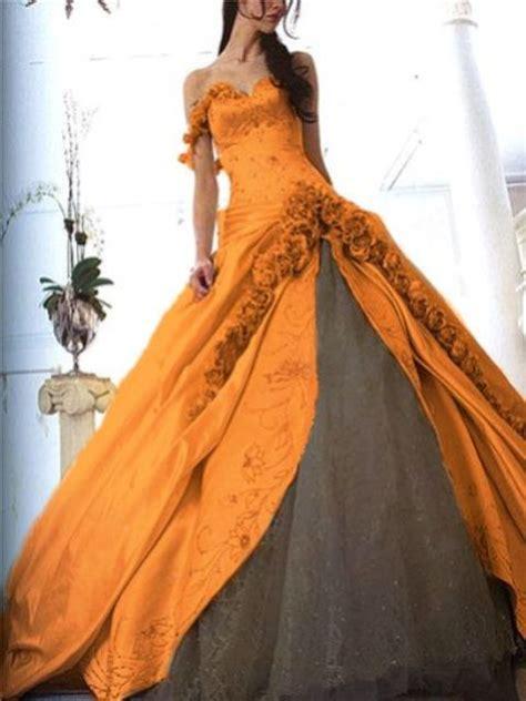 striking halloween wedding dresses weddingomania