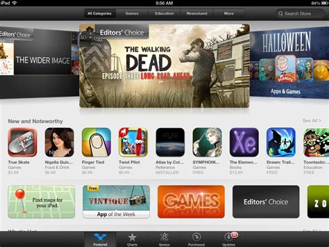 layout on app store featured area layout changes for the ipad app store this
