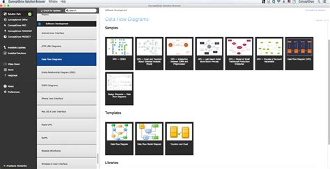 dfd diagram software data flow diagram software