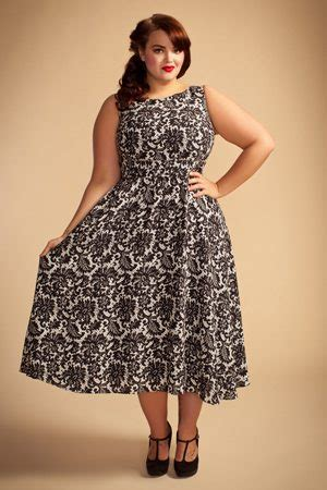 vintage dresses plus size uk