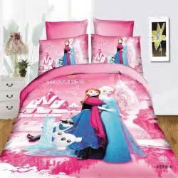 Frozen Duvet Cover Set Disney Frozen Girls Bedding Set Duvet Cover Bed Sheet