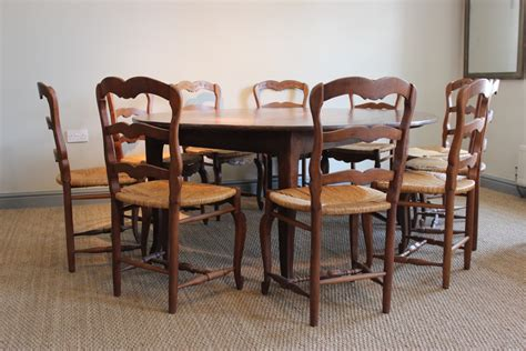 large 19th century oak dining table furniture