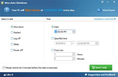 Auto Shutdown Windows 7 auto shutdown software for windows 7 new software download