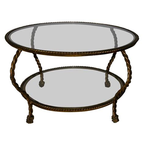 Rope Coffee Table Rope Edge Coffee Table At 1stdibs