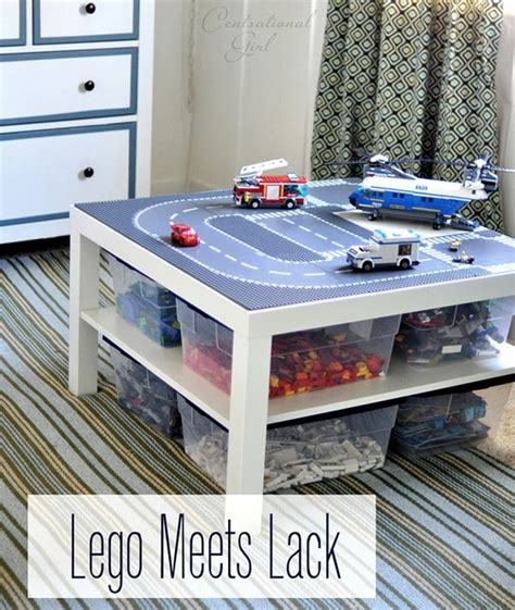 Lego Table Ideas by Creative Lego Storage Ideas Hative