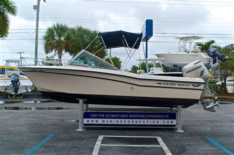 grady white dual console boats used 1988 grady white tournament 19 dual console boat for
