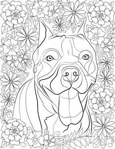 pitbull coloring pages de stress with pit bulls downloadable 10 page coloring