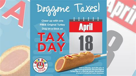 Free Turkey Giveaway - free turkey dog giveaway at hot dog on a stick on april 18 2016 chew boom