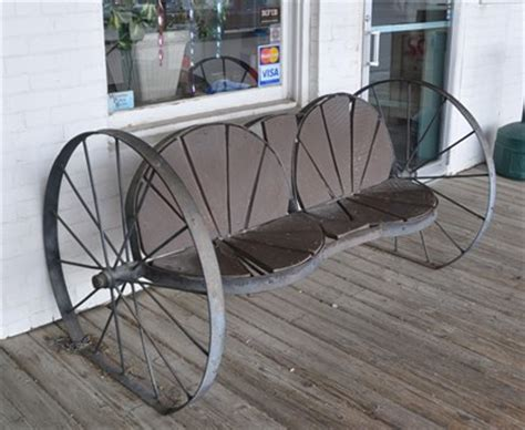 metal wagon wheel bench wagon wheel bench wagon wheels on waymarking com