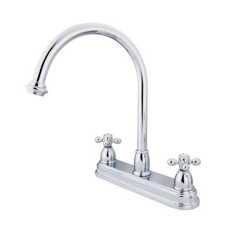 kitchen faucets chicago shop elements of design chicago chrome 2 handle deck mount