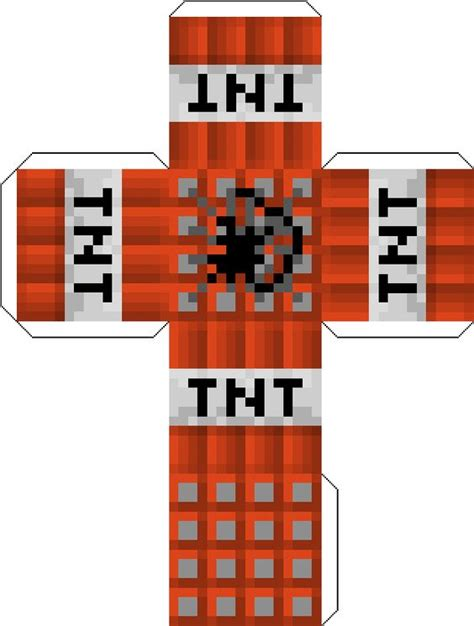 minecraft tnt block template minecraft tnt block free coloring pages
