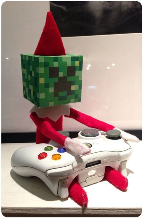 minecraft printable for elf on the shelf elf on the shelf minecraft style in love pinterest