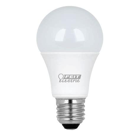 Led Light Bulb 60w Feit Electric 60w Equivalent Warm White A19 Led Light Bulb Maintenance Pack 10 Pack A800 830
