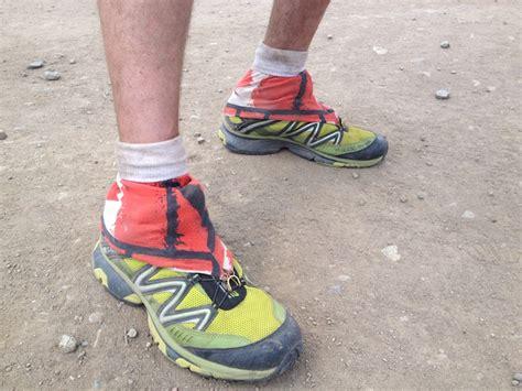 running shoe gaiters to toe breakdown of ultra runner s gear at transrockies