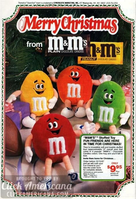 Ms Glow Original By Merry Fashion say merry with stuffed m ms toys 1987 click