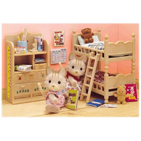 sylvanian childrens bedroom set childrens bedroom furniture from sylvanian families wwsm