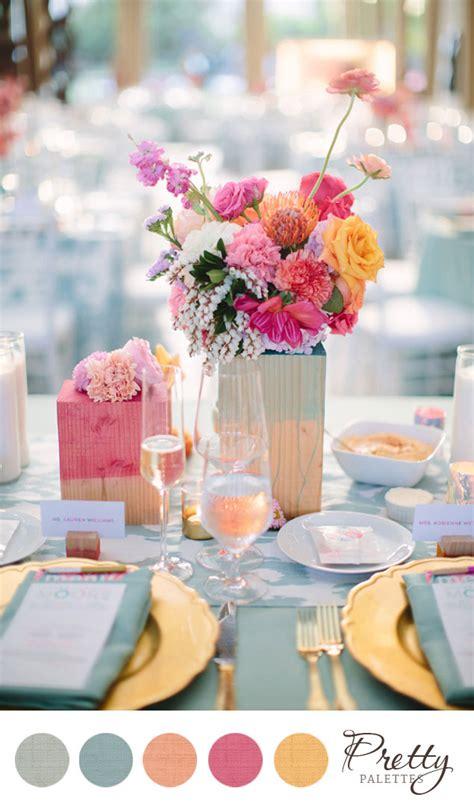 pretty wedding colors pretty summer color palette