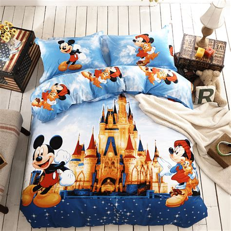 Disney King Bedding Set Disney Bedding Set Twin And Queen Size Kids Comforter