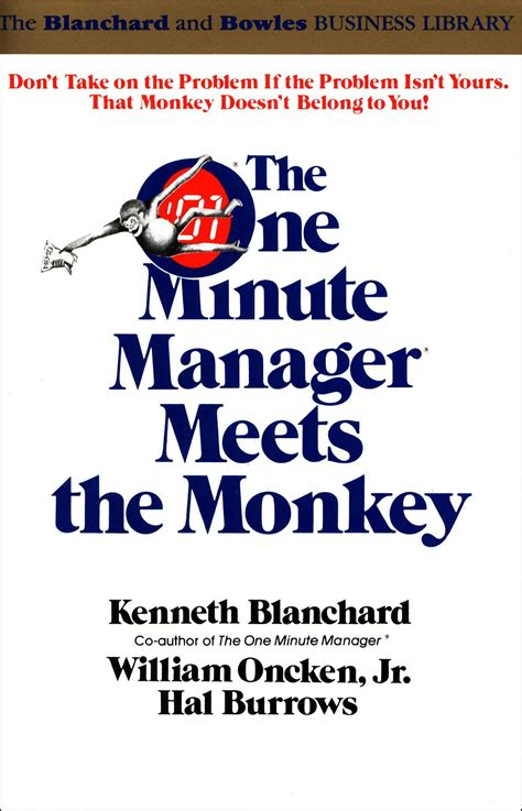 One Minute Manager the one minute manager meets the monkey ken blanchard books