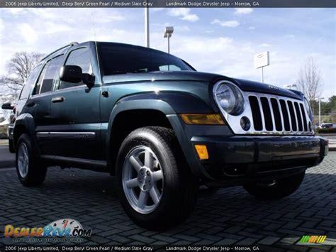 2006 Jeep Liberty Limited 2006 Jeep Liberty Limited Beryl Green Pearl Medium