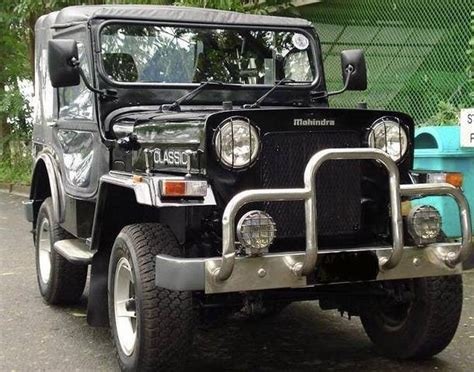 Vintage Jeeps For Sale Mahindra Original Classic Jeep 4x4 1999 For Sale From