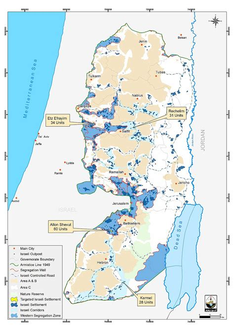 west bank map israel extends plans for new settler homes in the occupied west bank poica
