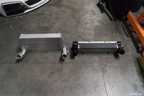 Er Evolution Race Works Intercooler competition series front mount intercooler m135i m235i m2
