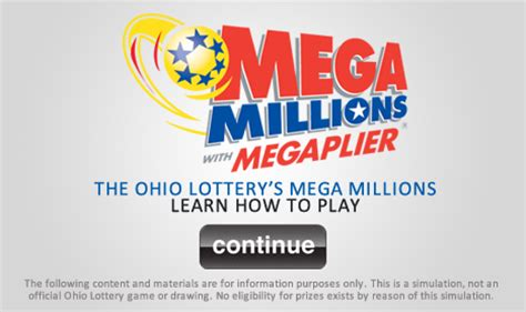 mega millions :: the ohio lottery