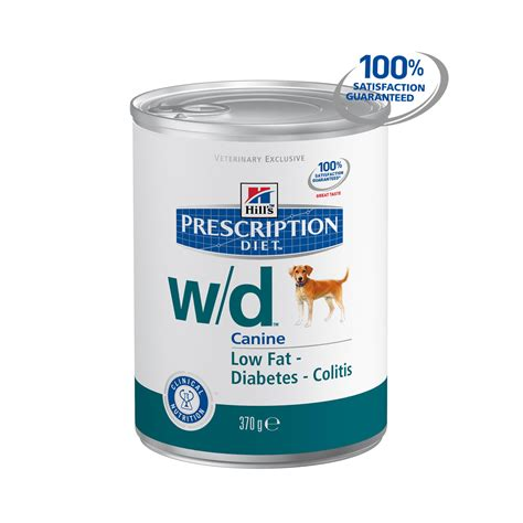 wd food canine w d 12x370g food chemist direct