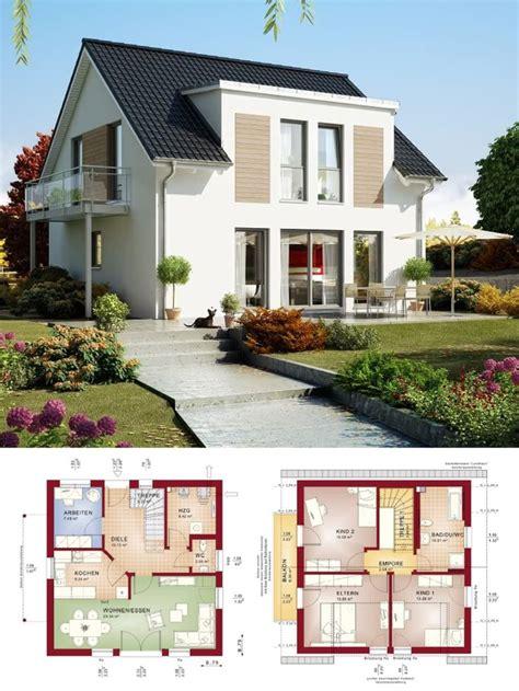 einfamilienhaus neubau mit satteldach architektur