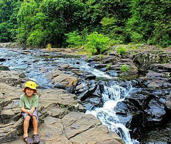 water falls, waterholes brisbane family explorers