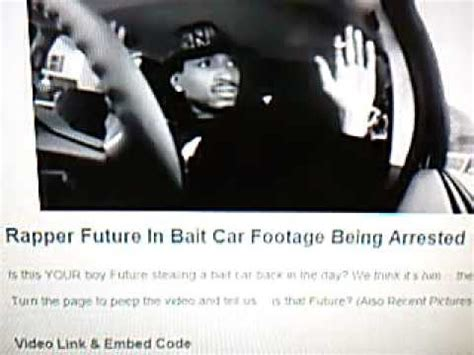 future rapper cars bullshit ep 26 rapper future on bait car youtube