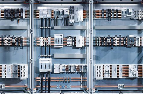 Panel Rittal busbars and iec devices take panel costs