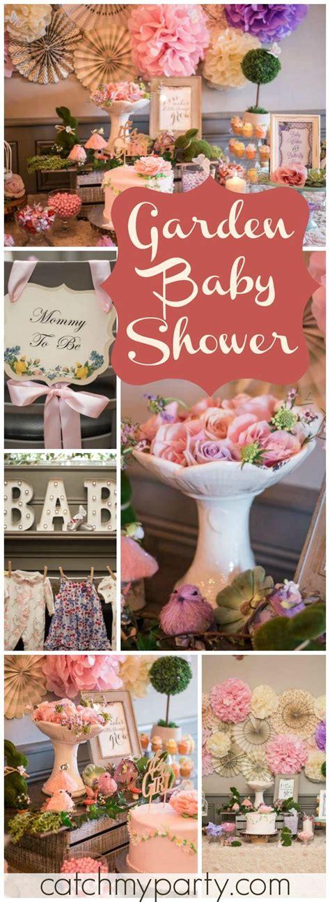 Garden Baby Shower Theme by Best 20 Garden Baby Showers Ideas On