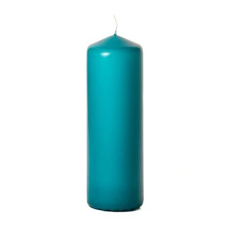 best unscented candles mediterranean blue 3x9 unscented pillar candles 9 inch candles
