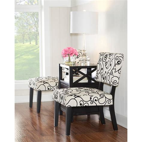 home decorators collection black and white accent