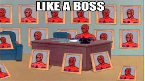 Spiderman Table Meme - spiderman sitting at his desk desk design ideas