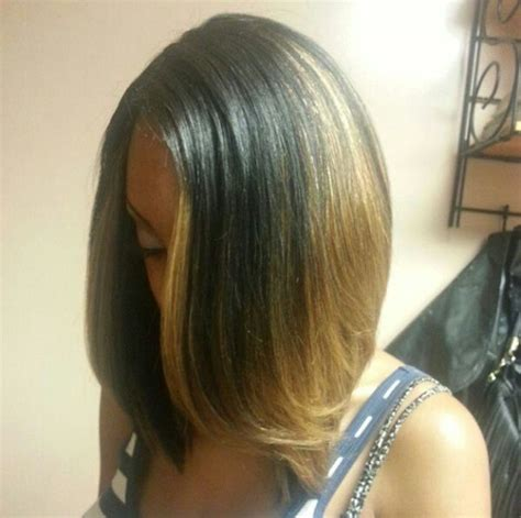 bobbed hairstlyes with dark underneath and highlights on top 1000 images about bob weave on pinterest follow me