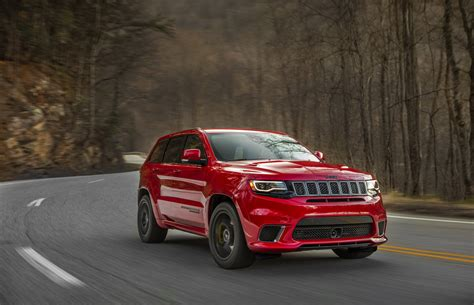 trackhawk jeep cherokee jeep introduced grand cherokee trackhawk