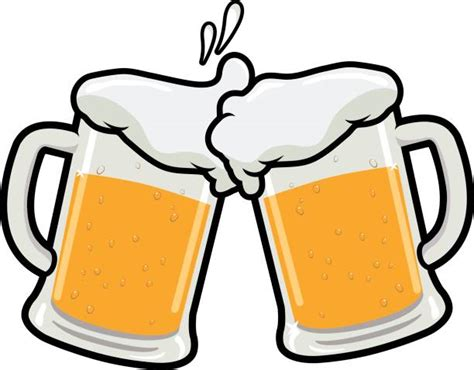 beer cheers cartoon royalty free cartoon of a beer mug clip art vector images