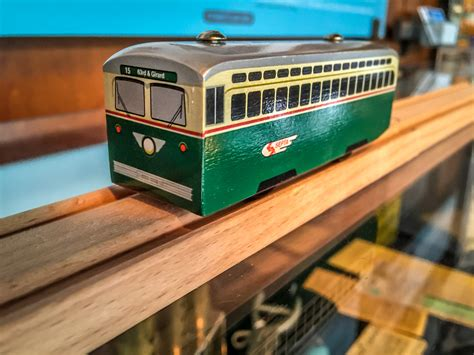 brio trolley septa wooden streetcar toy market street railway