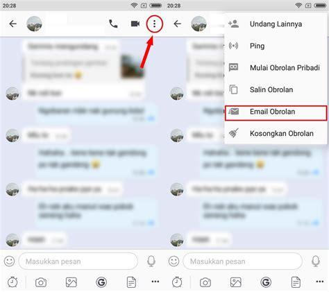 cara memberi wallpaper pada chat bbm cara mudah menyimpan history chat bbm inwepo