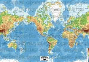 america on the world map world map mountain ranges physical of world map