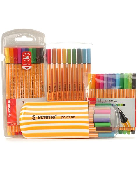 Stabilo Set 9 Warna stabilo point 88 pen sets