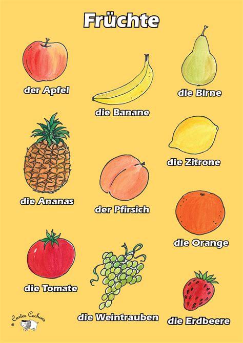 fruit in german german fruit