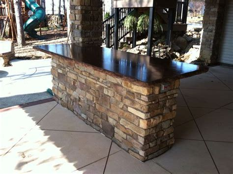 Outdoor Bar Countertop Ideas by 78 Best Ideas About Outdoor Island On Bbq
