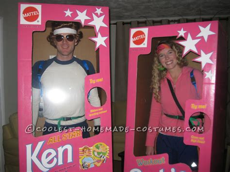 coolest diy barbie  ken couple costume